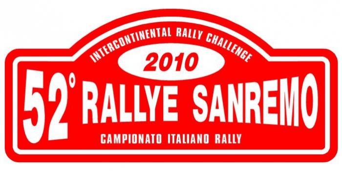 Francesco Aragno al Rallye di Sanremo